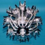 14 Zylinder-Sternmotor