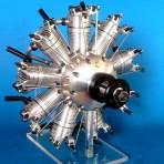 Plan: 9 Zylinder-Sternmotor