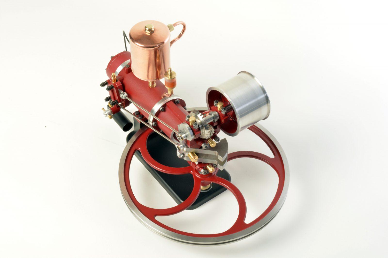 Nachbau des Benz-Motors aus 1884