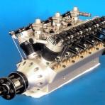 12 Zylinder-V-Motor