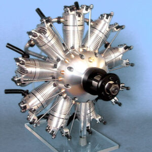 9 Cylinder Radial Engine